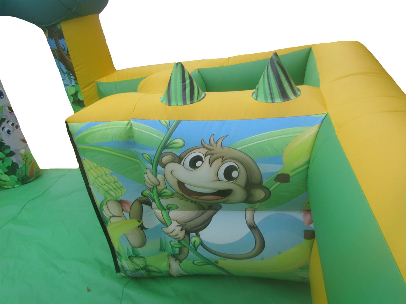 Jungle Commercial Inflatable Play Park