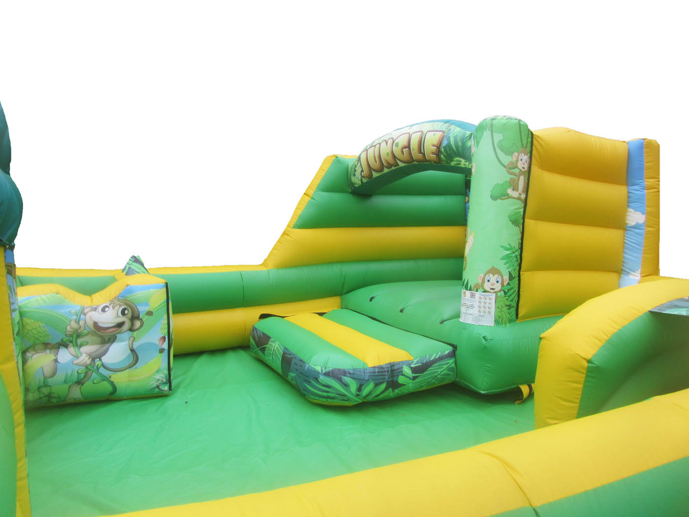 Jungle Themed Inflatable Play Park