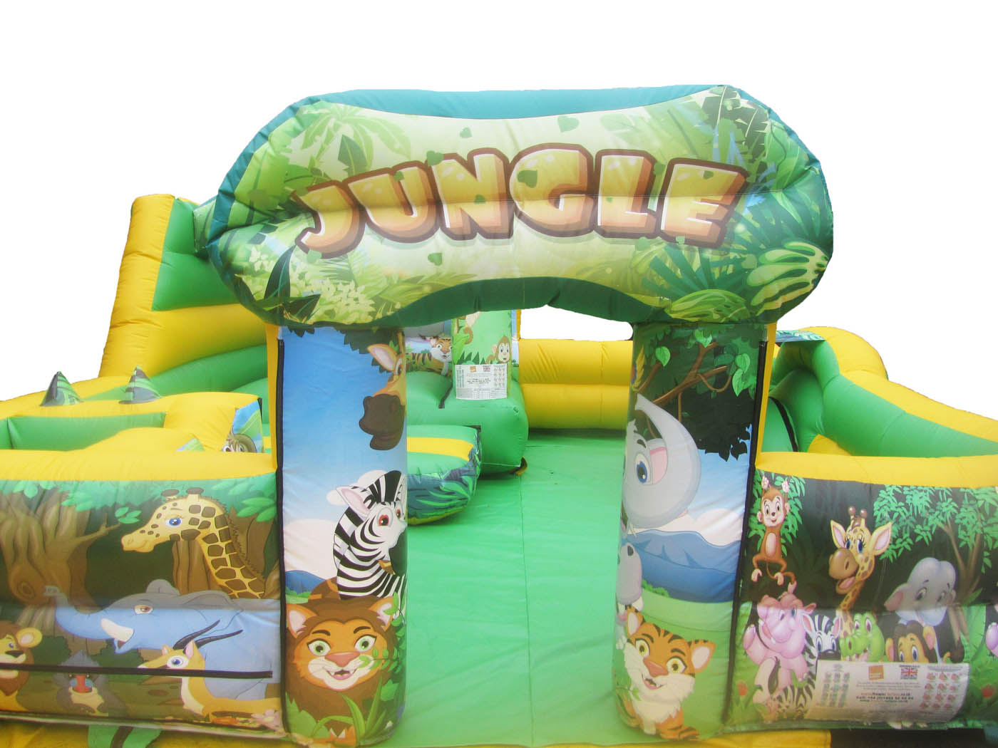 Jungle Themed Inflatable Play Park for Sale