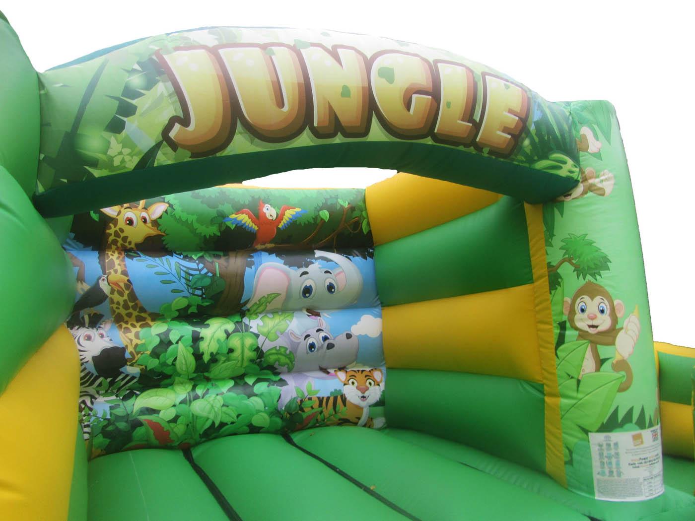 Inflatable digitally printed Jungle Artwork