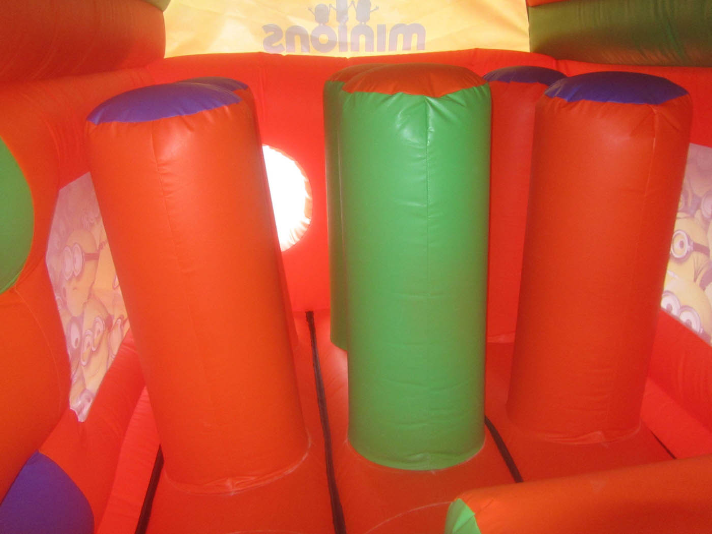 Biff & Bash Posts for Bouncy Obstacle Course