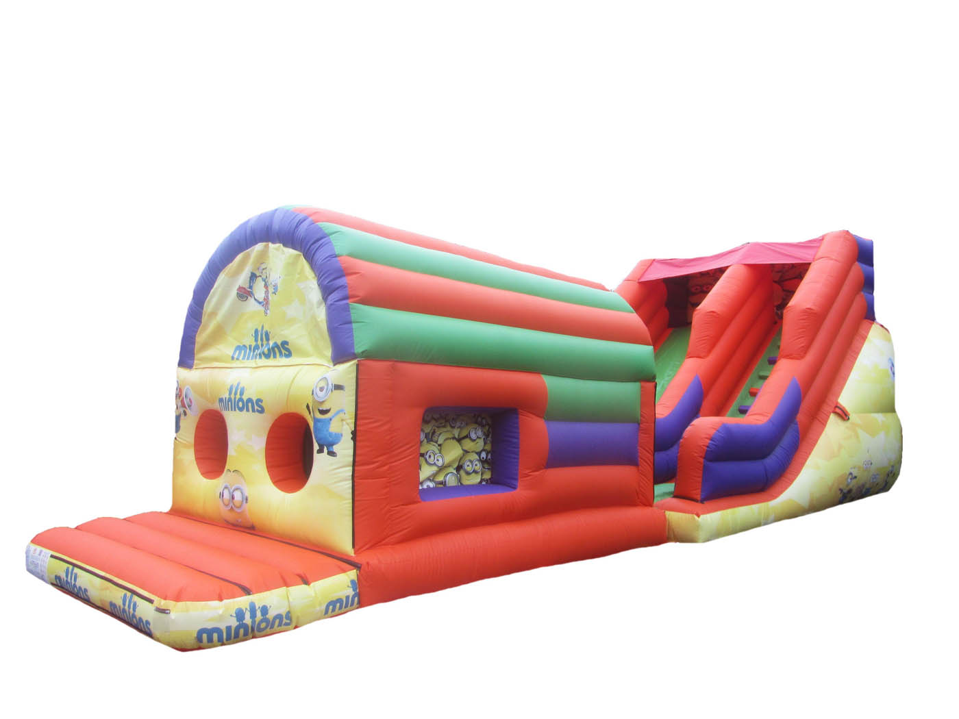 2 part Inflatable Obstacle Course for Sale, UK Bouncy Castle Sale