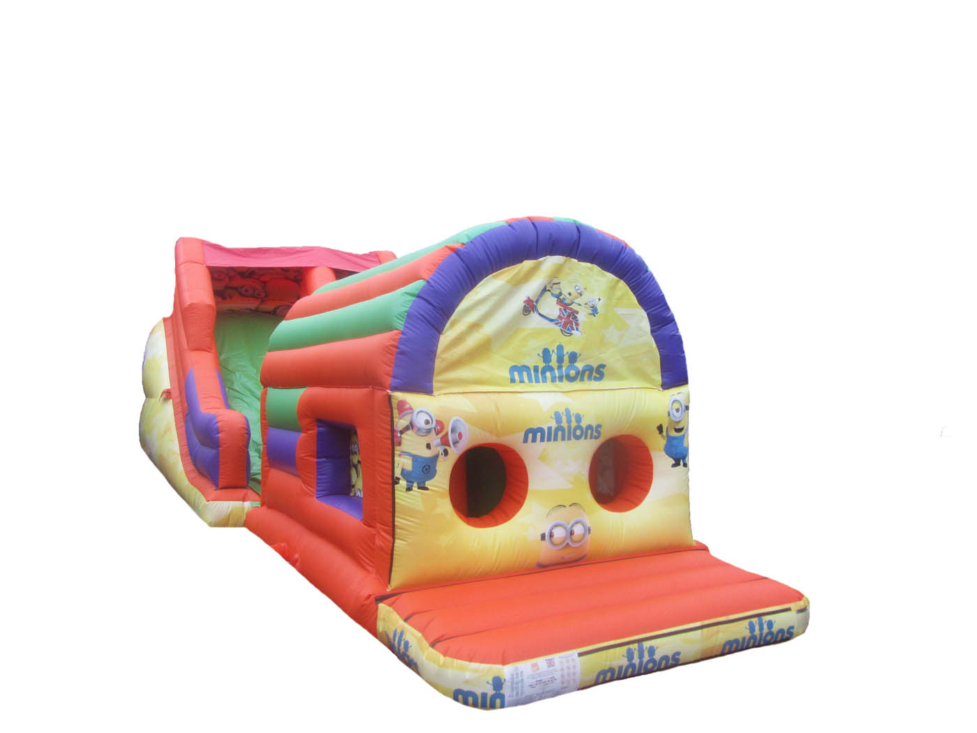 2 Part Inflatable Obstacle Course for Sale
