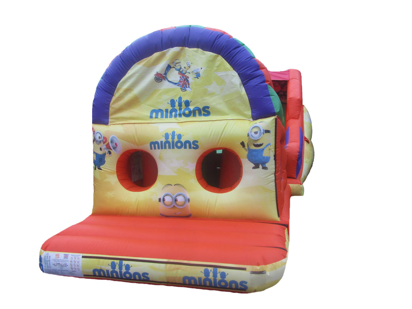 Inflatable Bouncy Obstacle Course, UK Bouncy Castle Manufacturers