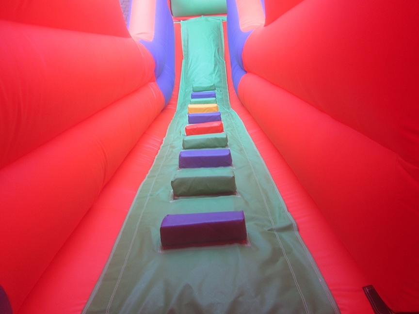 2-part-minions-printed-inflatable-obstacle-course-slide-steps-compressor