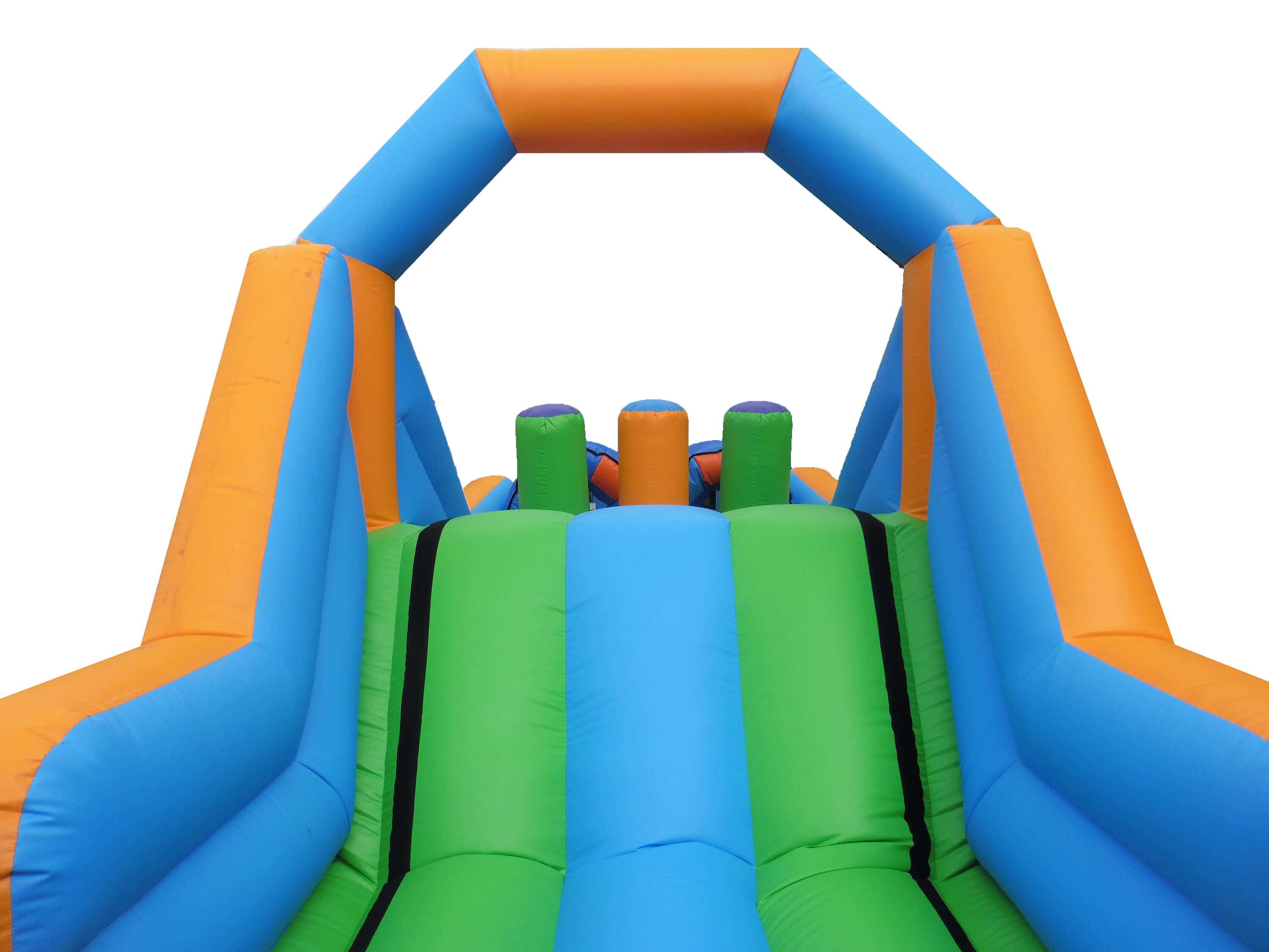 24ft up over obstacle slide