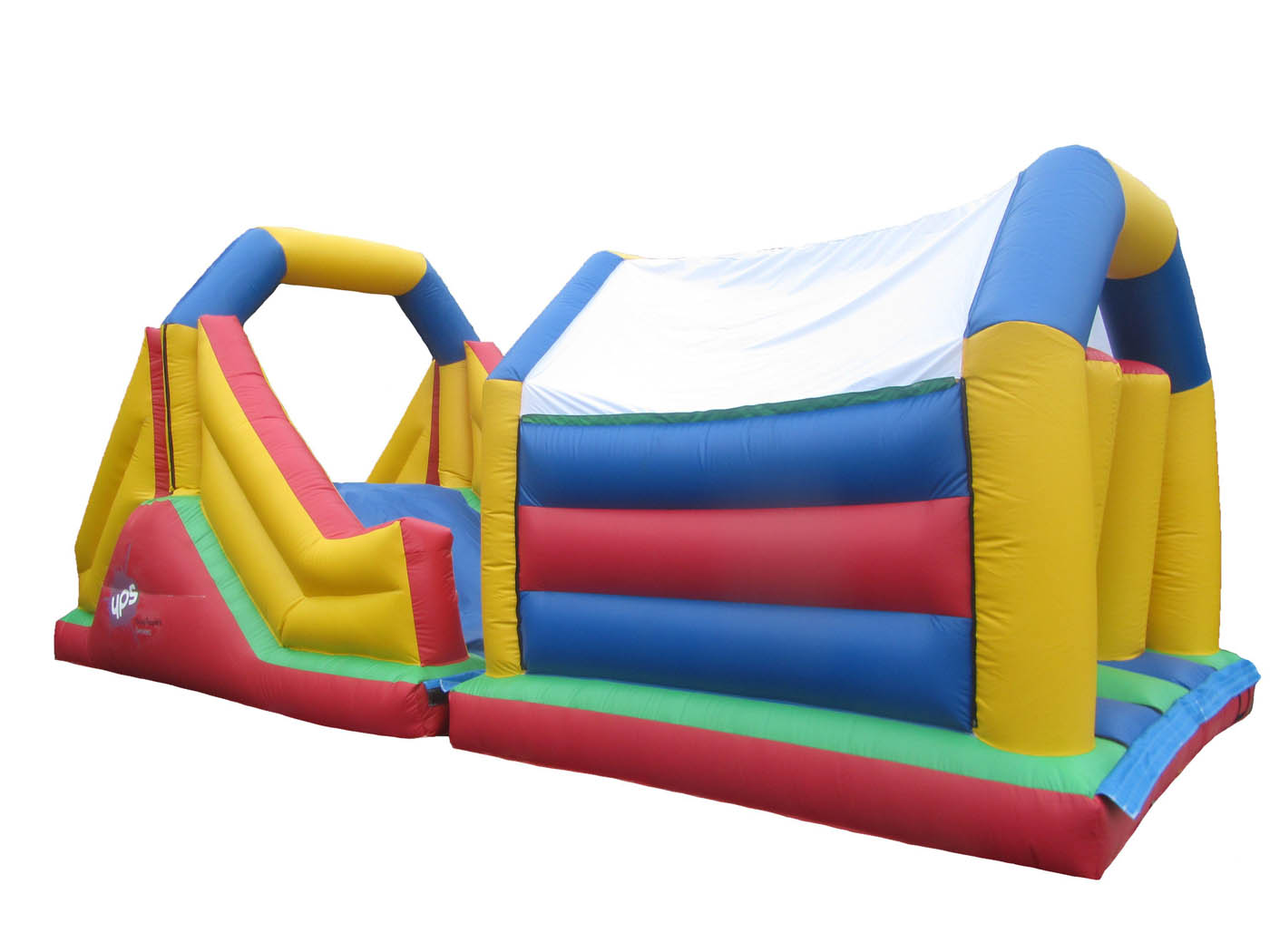 2 Part bouncy obstacle Course for Sale