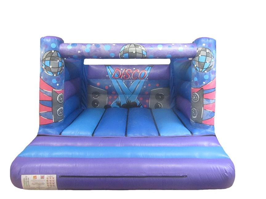 Commercial Children's Disco Bouncy Castle