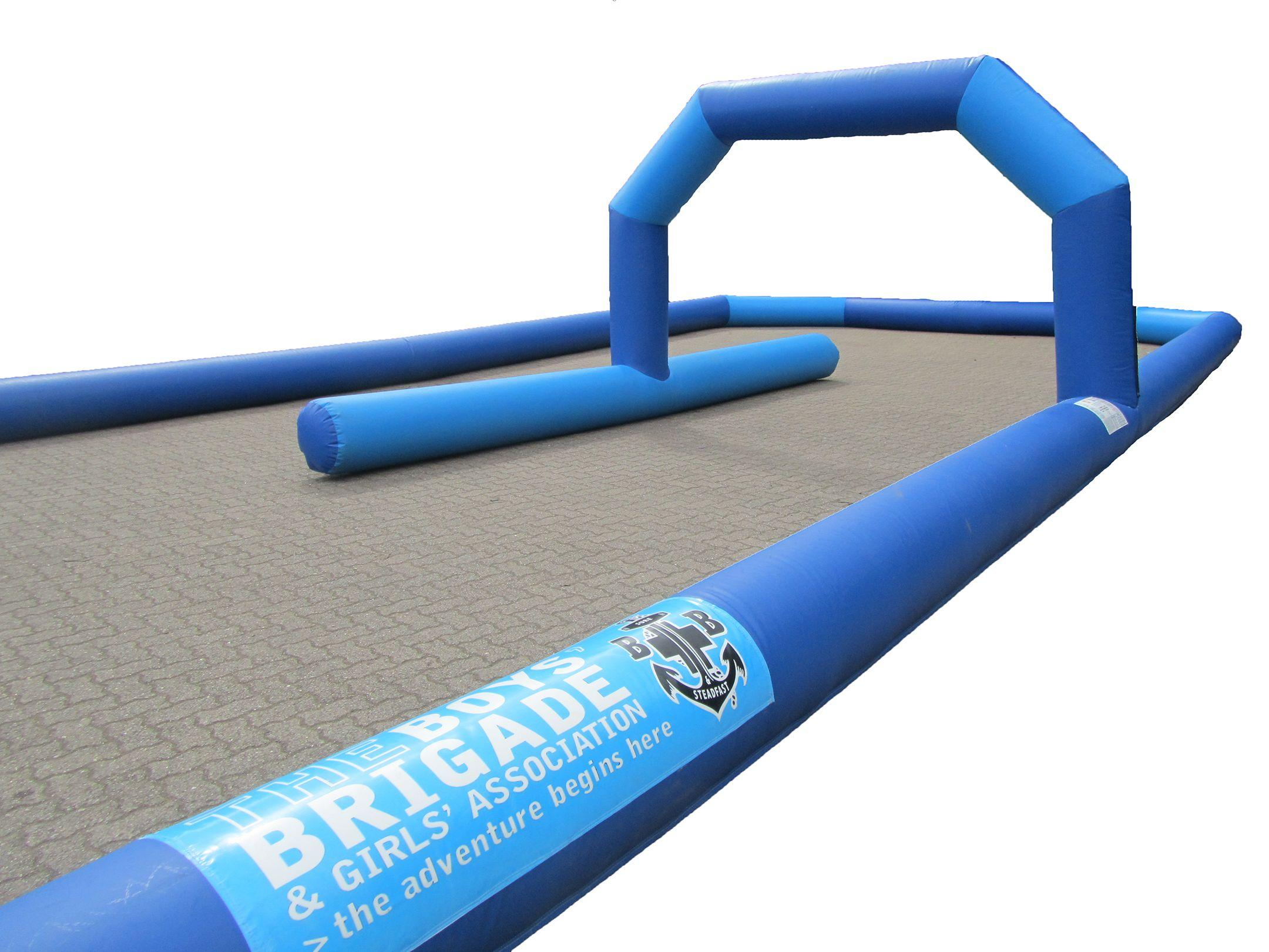 Inflatable Kart Track with Branding