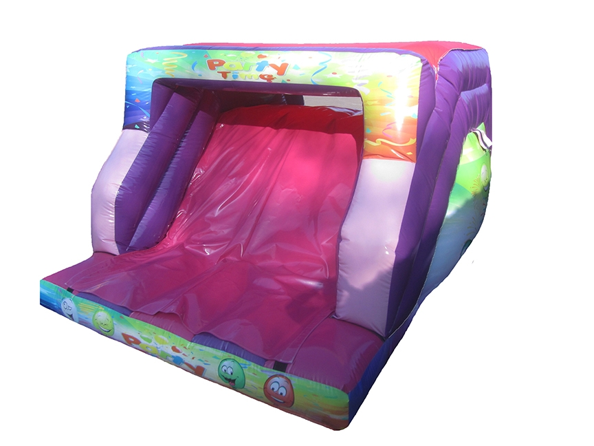 Inflatable Slide with Party Artwork
