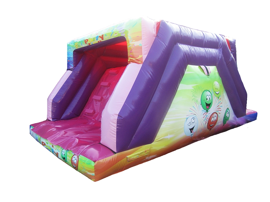 6ft-up-over-glossy-party-inflatable-slide-compressor