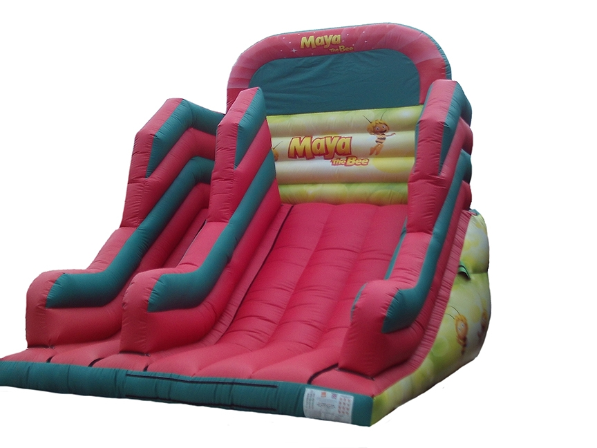 8ft-maya-the-bee-inflatable-platform-slide-compressor