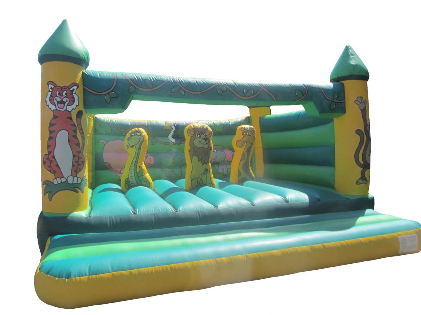 Adults Jungle Activity Bouncy Castle UK