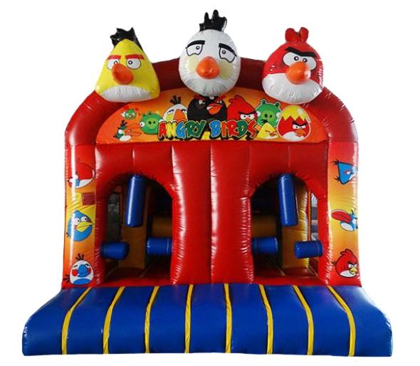 Birds Bouncy Castle Obstacle Course Manufacturer Sales