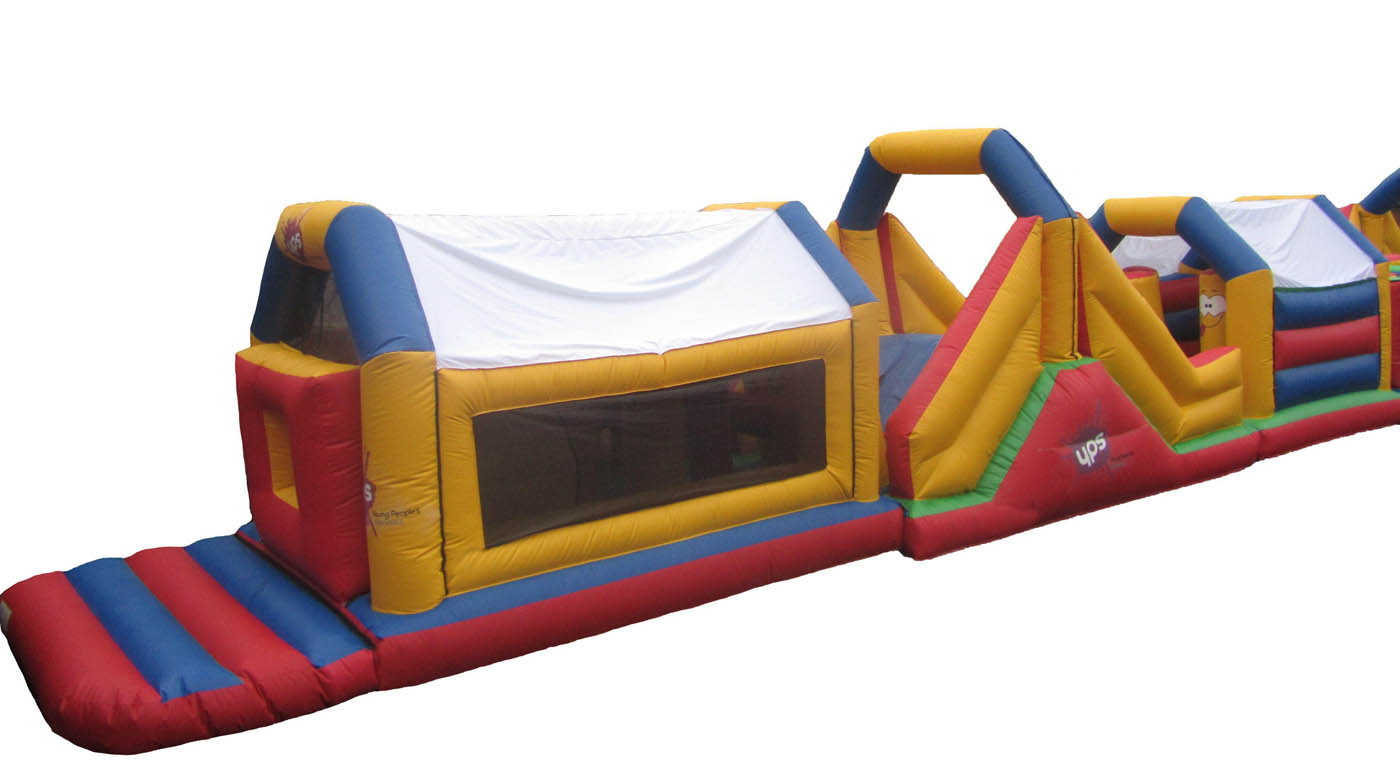 Commercial Bouncy Obstacle Course for sale