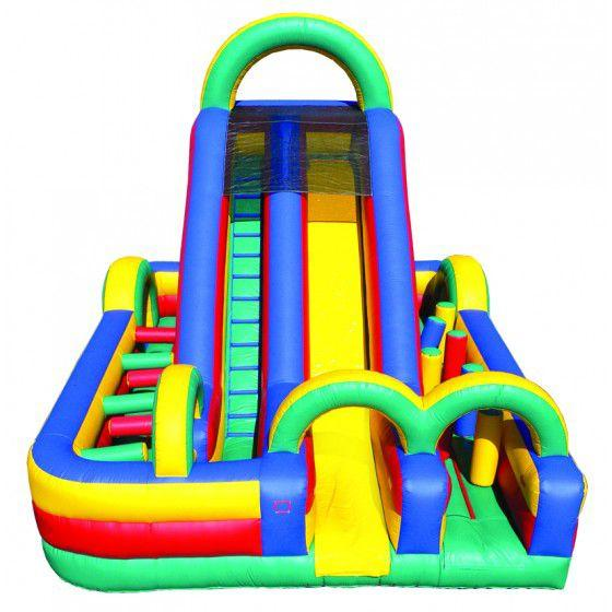 Bouncy Obstacle Slide for Sale