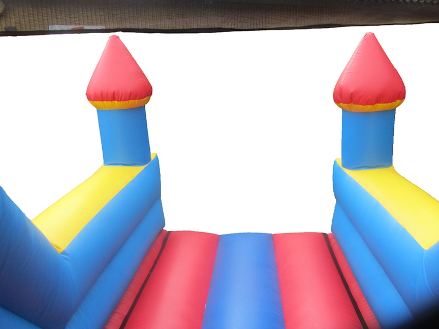 Plain Bouncy Slide with Turrets