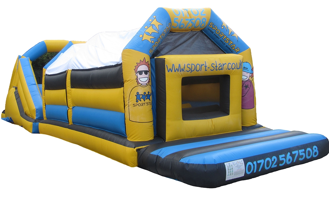 Personalised Bouncy Obstacle Course