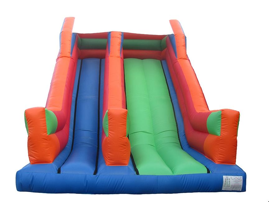 Bouncy Slide Multicolour_Bouncy Castle Manufacturers-compressor