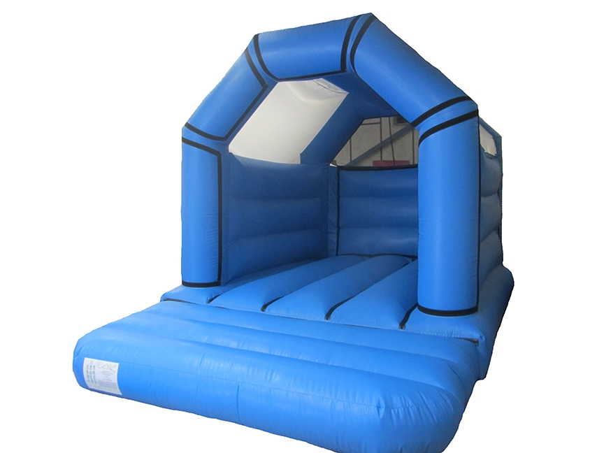 Commercial Plain Velcro Bouncy Castle