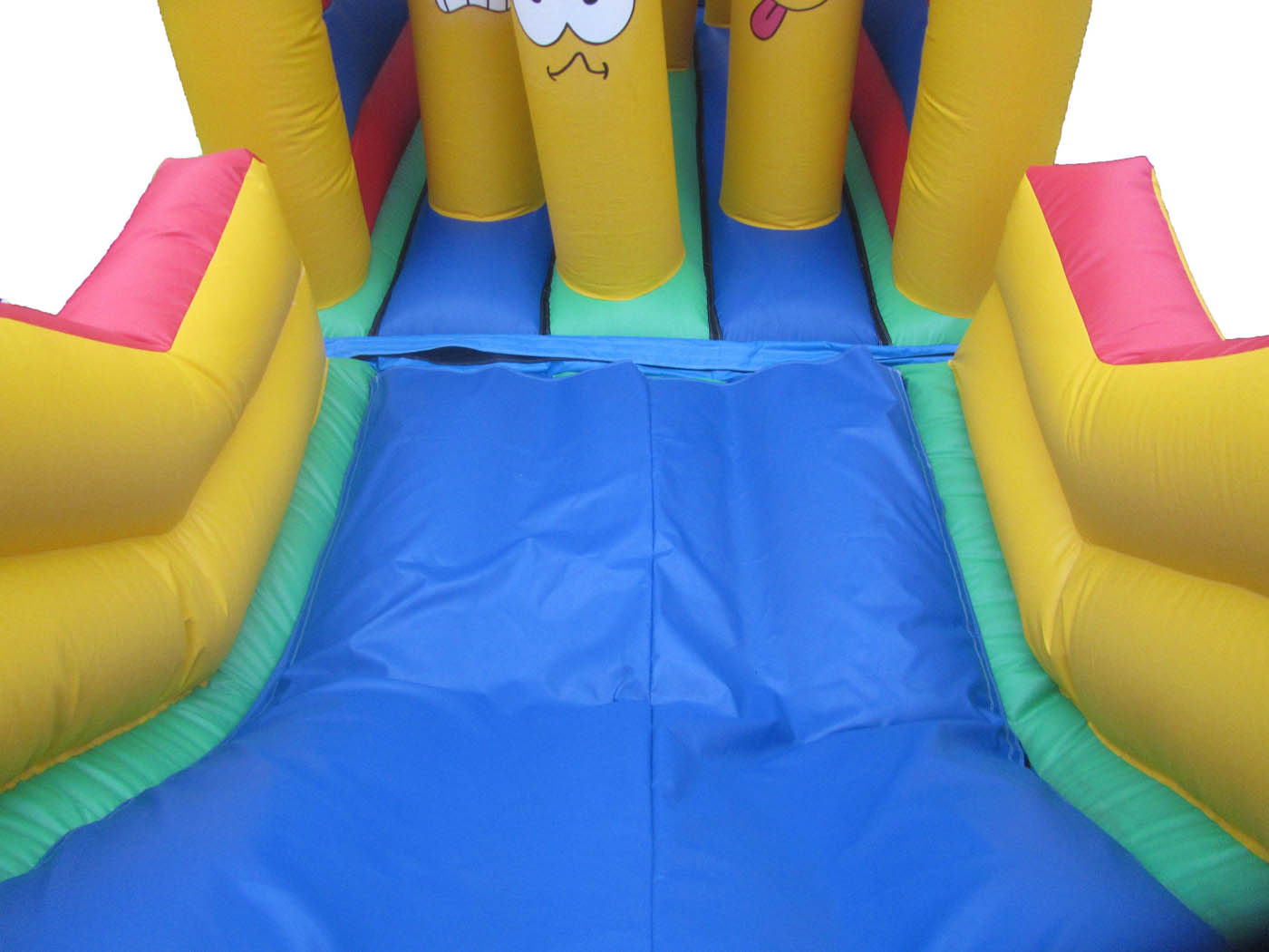 Inflatable Bouncy Slide on Obstacle Course