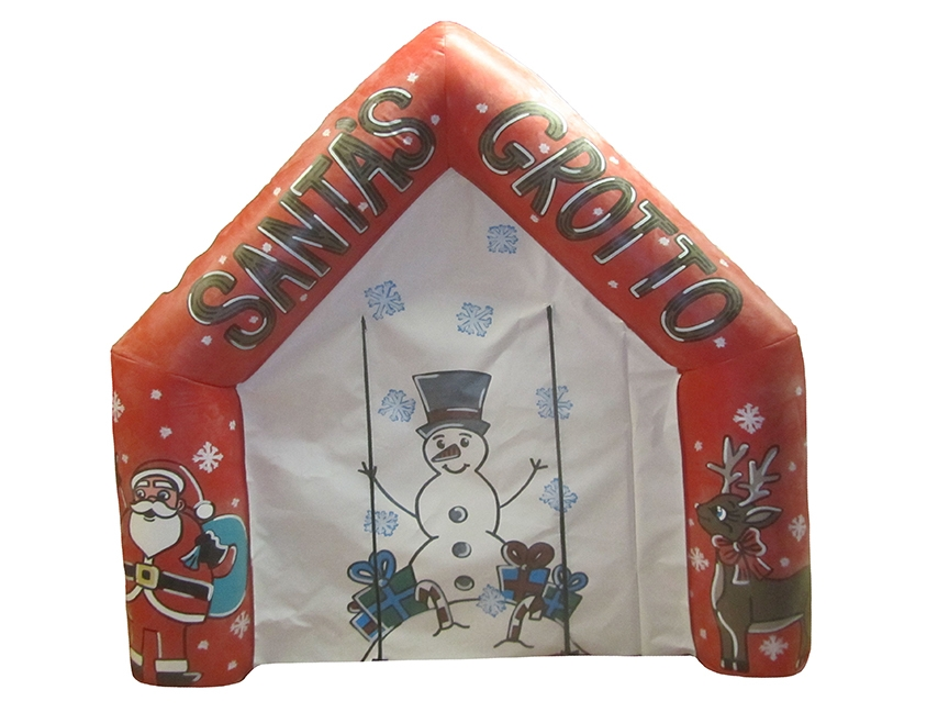 Budget Inflatable Santa's Grotto