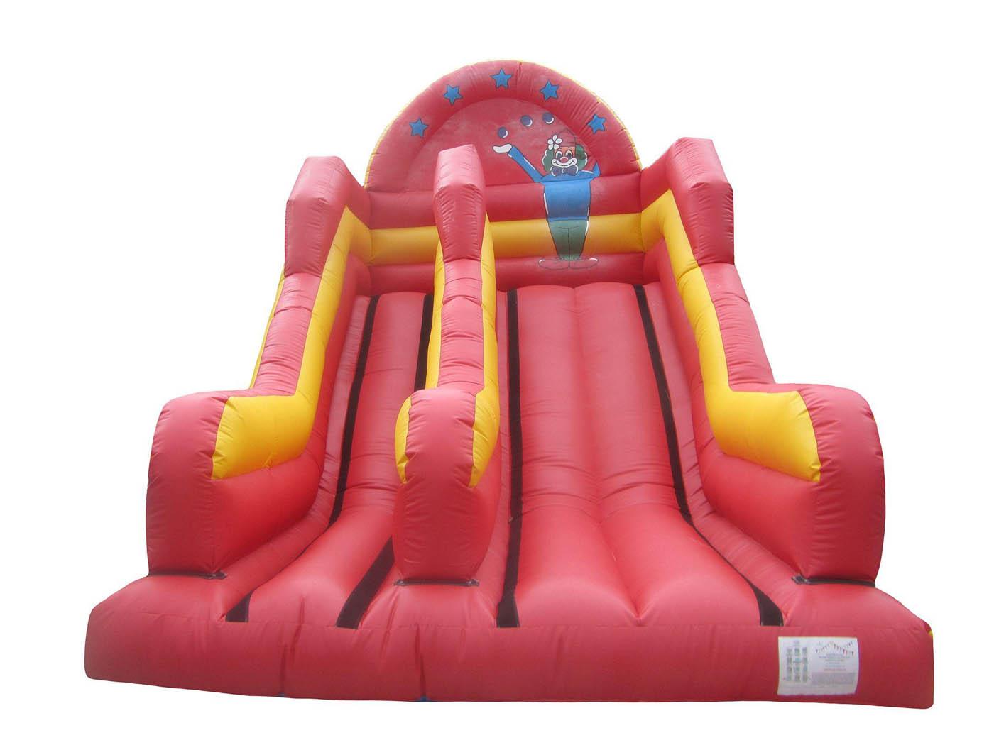 Clown Themed Inflatable Mega Slide