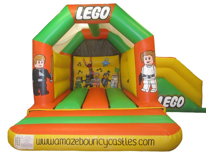 Commercial Themed Combo Bouncy Castle for Sale