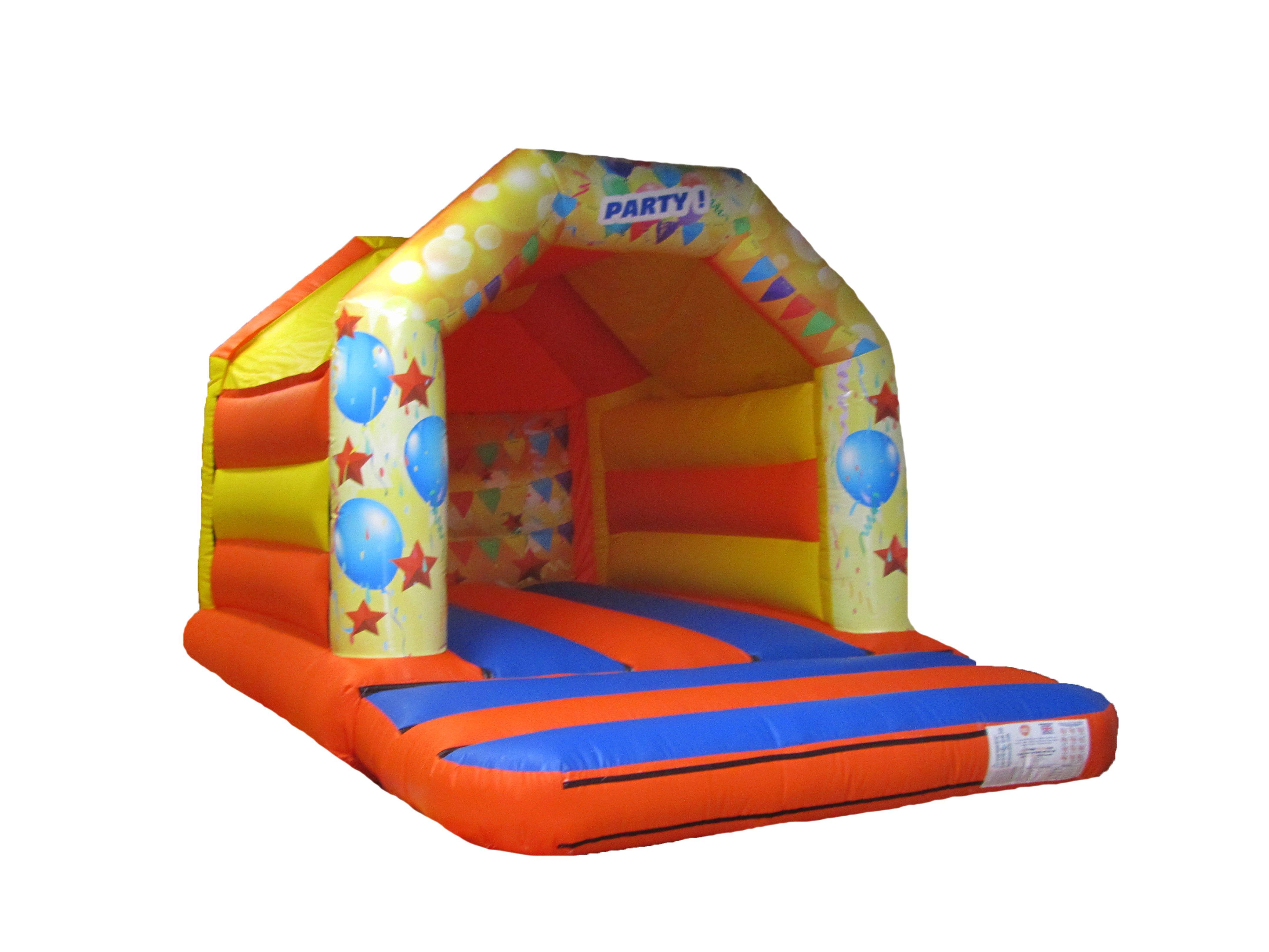 Party Themed Commercial Bouncy Castle