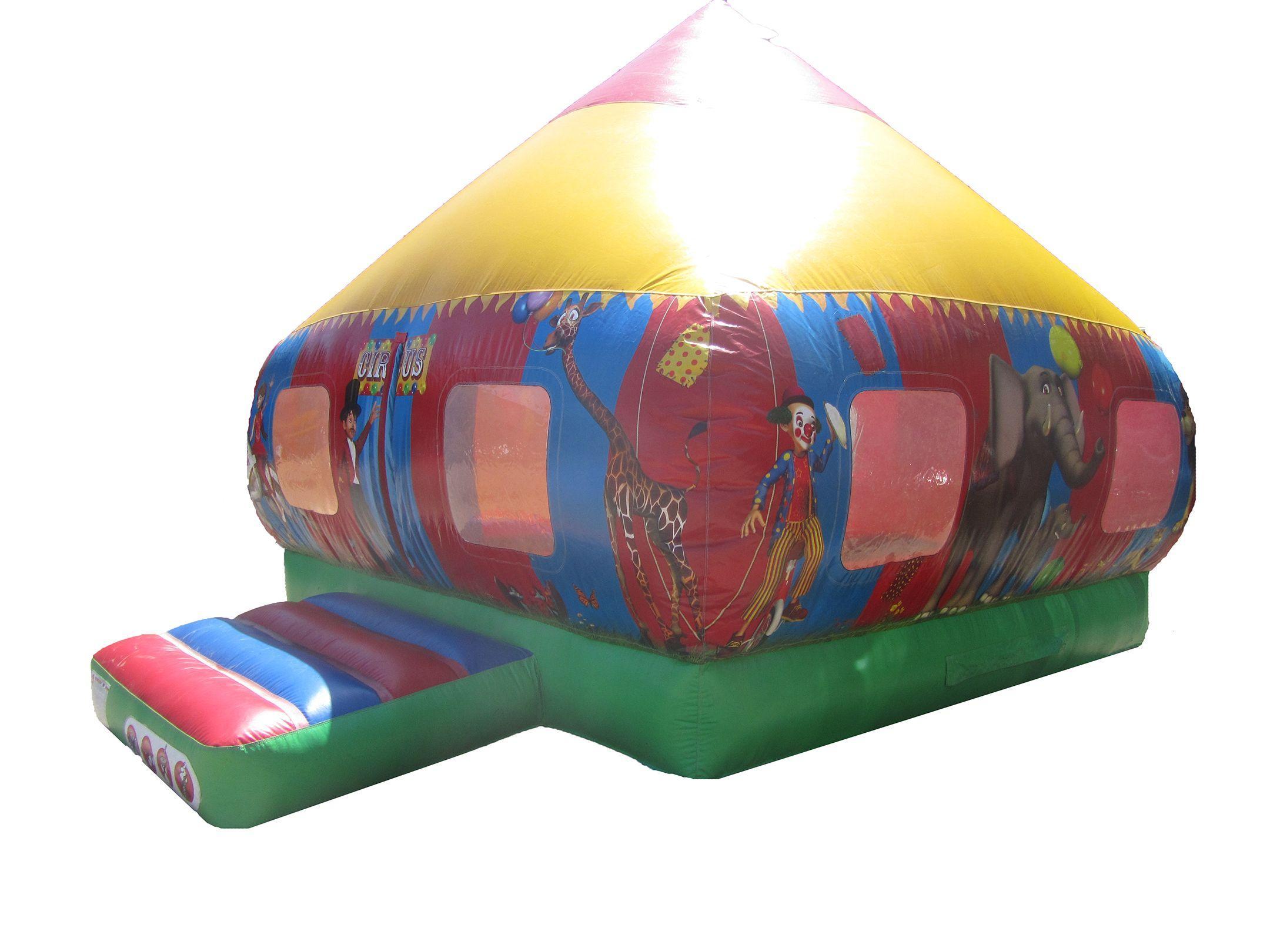Circus Themed Moonwalk Bouncer