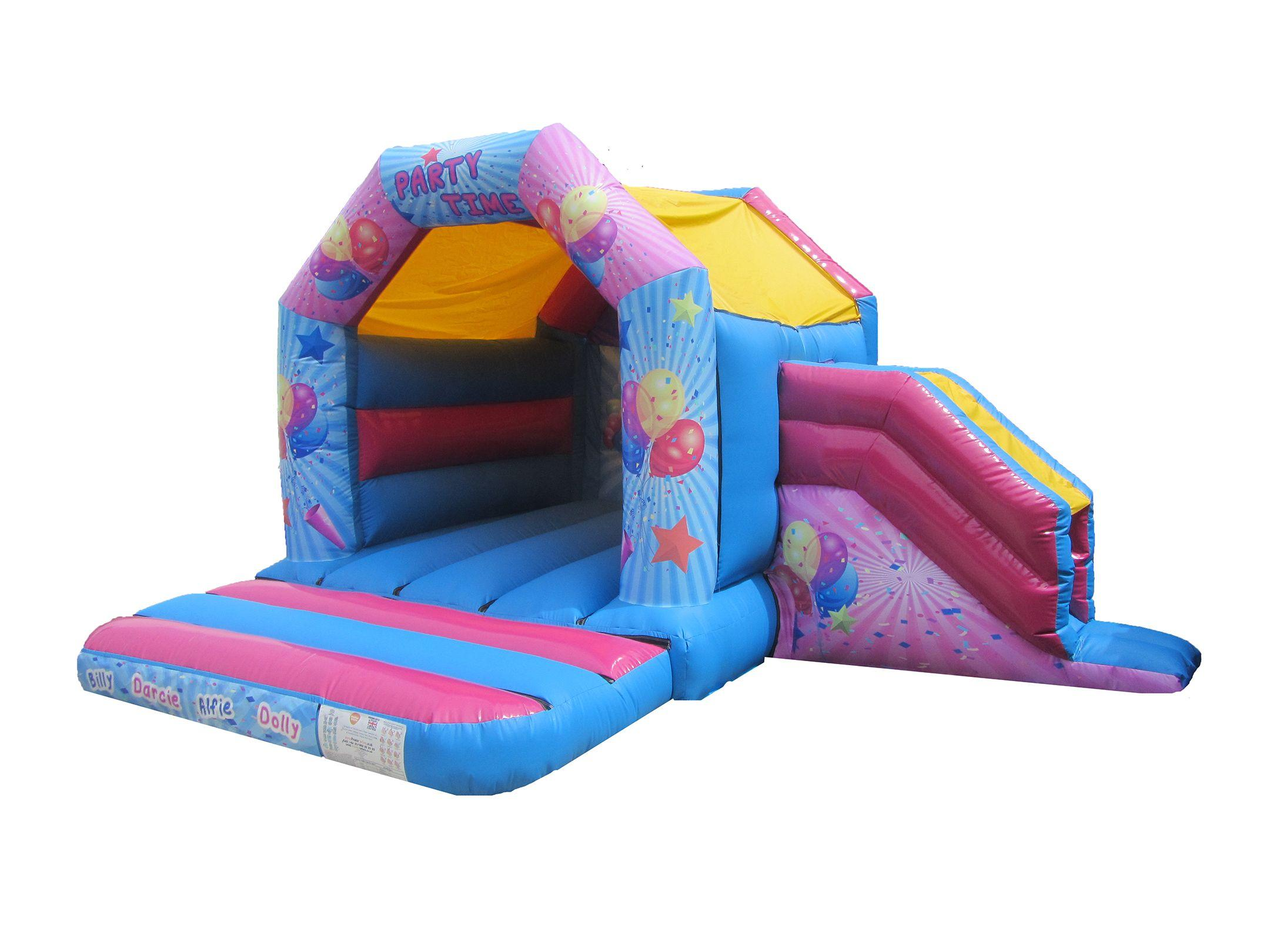 Unisex Party Combo Bouncy Castle
