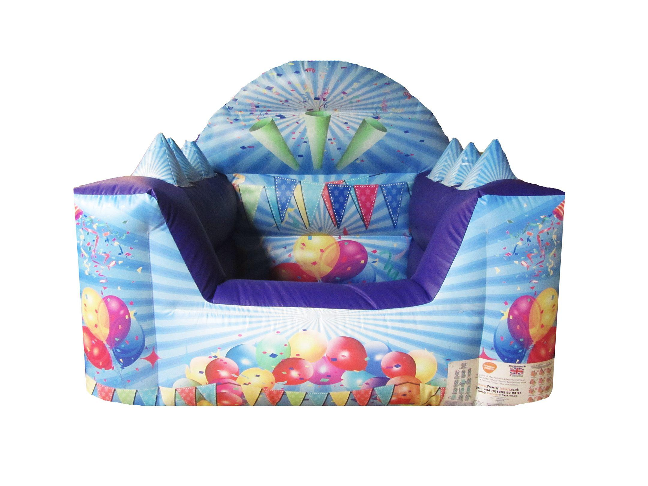 Inflatable Party Themed Toddler Ball Pond