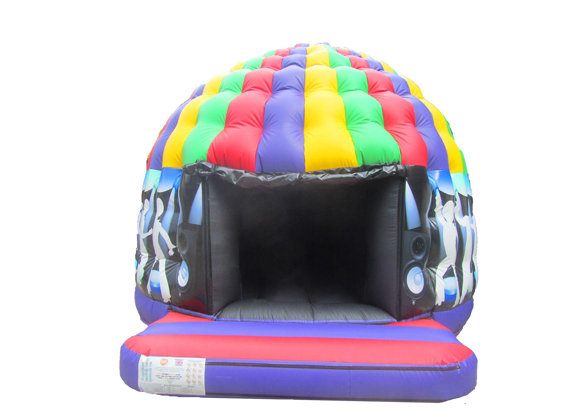Inflatable Circular Disco Dome for Sale