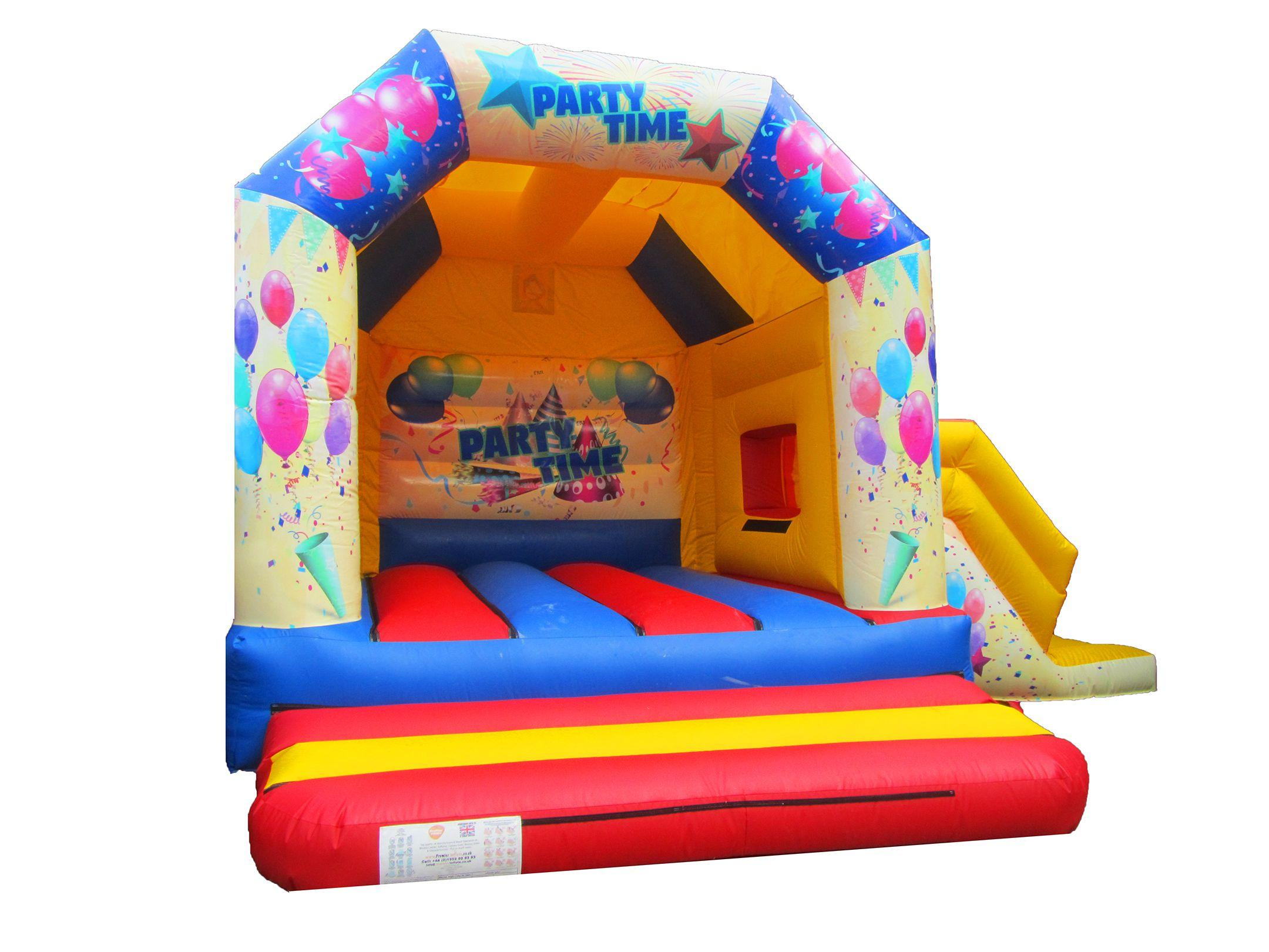 Adults Party Themed Bouncy Castle with Slide Combi