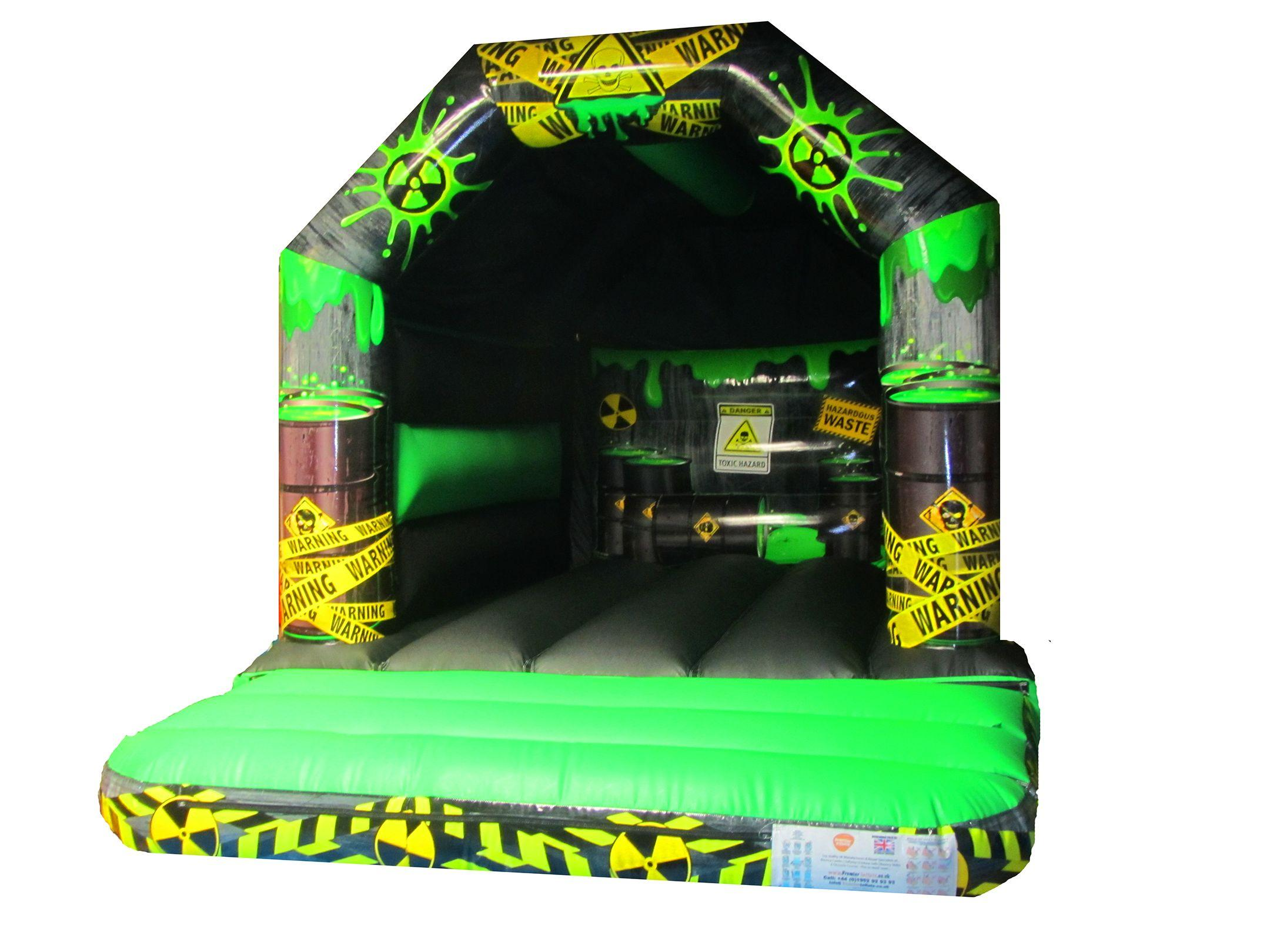 Commercial Toxic Themed Bouncy Castle