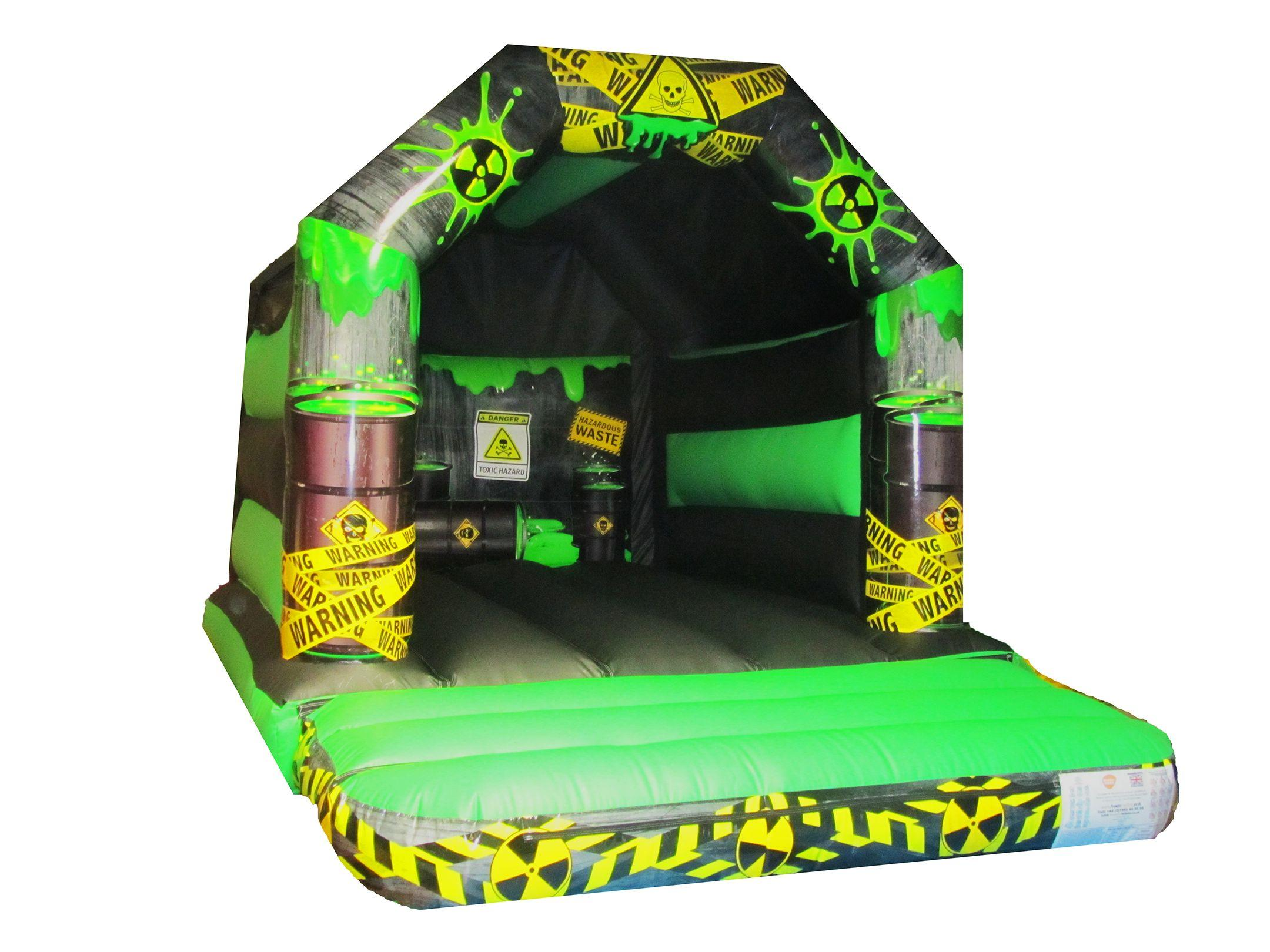 Toxic Themed Childrens Bouncy Castle