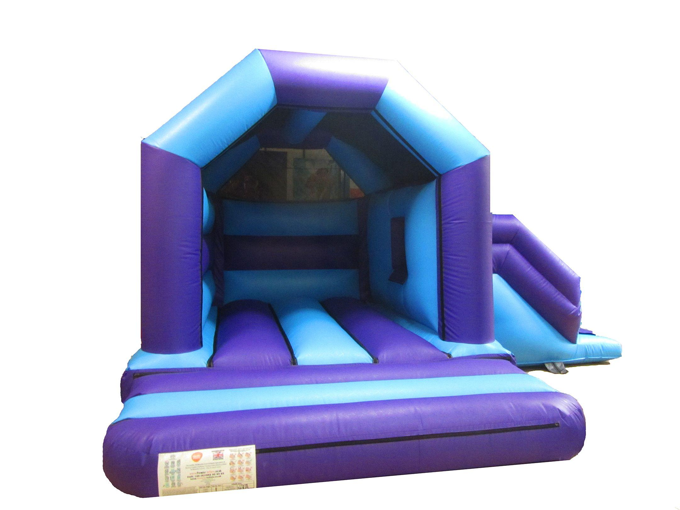Heavy Duty Childrens Bouncy Castle with Slide