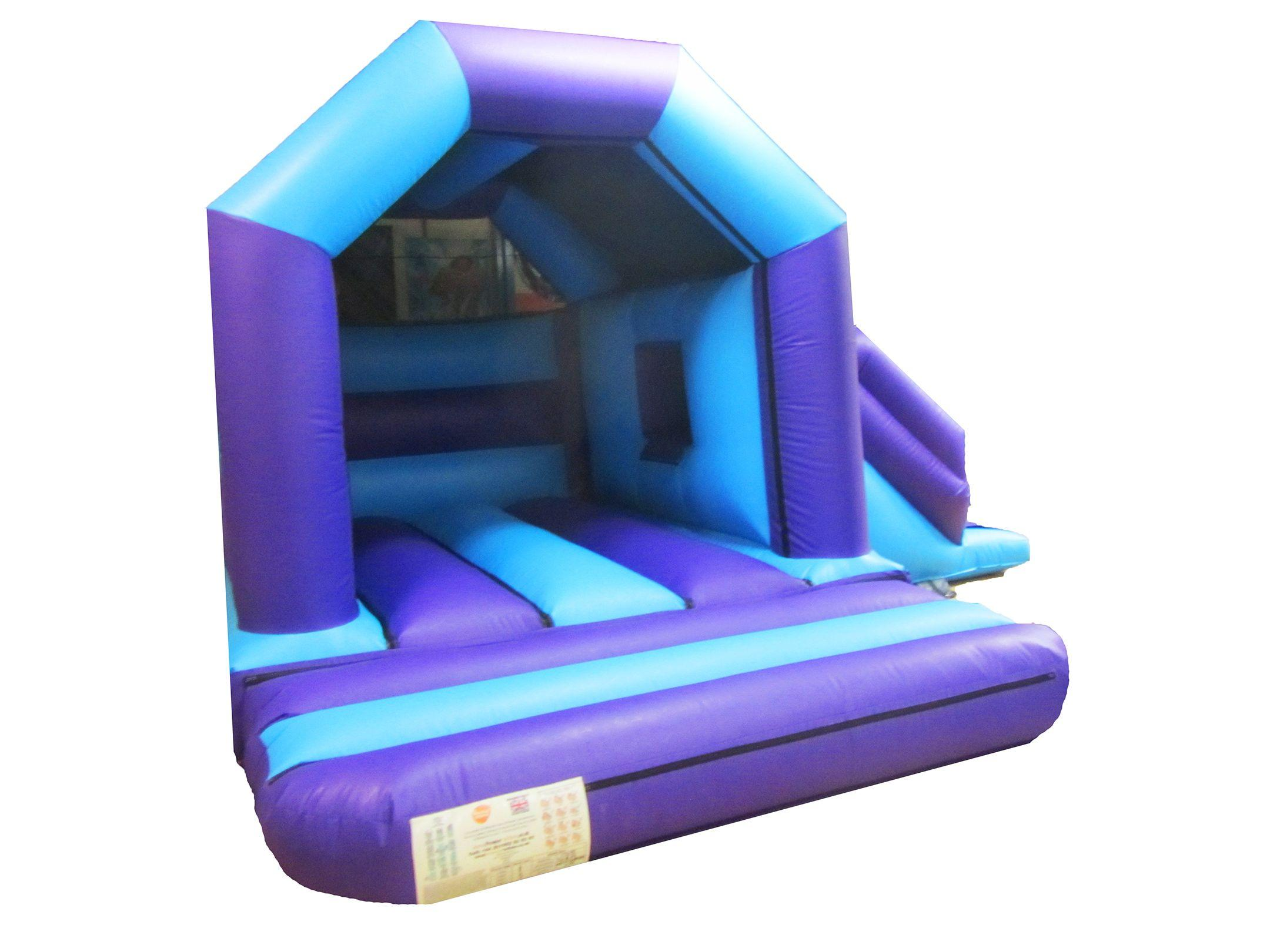 Commercial Plain Childrens Combi Bouncy Castle