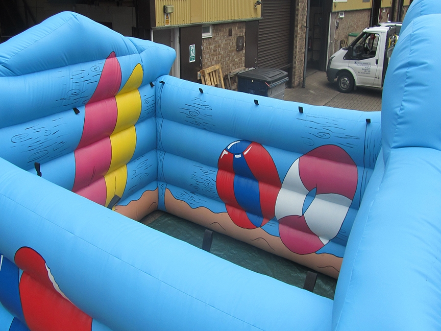 Commercial Inflatable Summer House, Inflatable Manufacturers UK