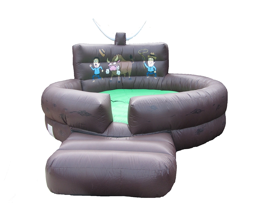Inflatable Rodeo Bull Bed