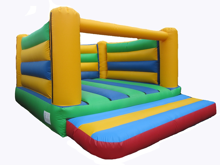 Plain 4 Post Bouncy Castle