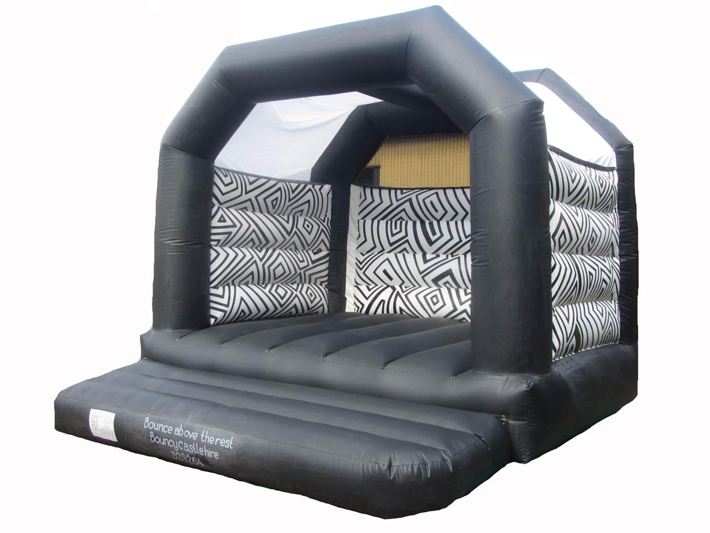 Adults Patterned Bouncy Castle