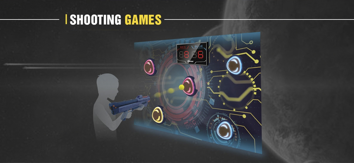 Interactive Play Shootinggames