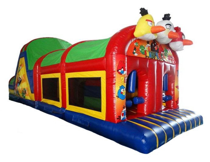 Naughty Birds Childrens Bouncy Obstacle Course for sale