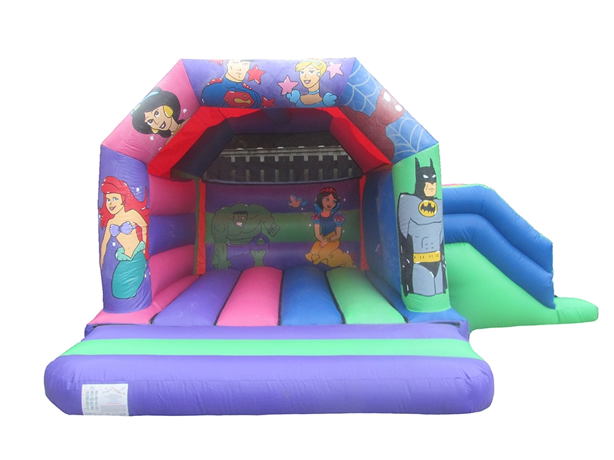 Princess & Superhero Combi Jumping Castle