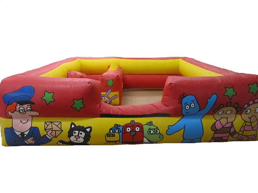 Softplay-Barrier-Inflatable-compressor