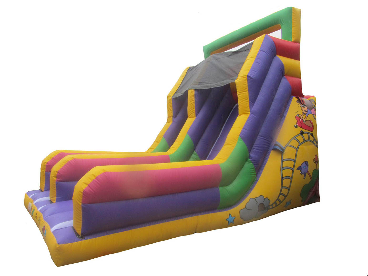 Super Bouncy Mega Slide