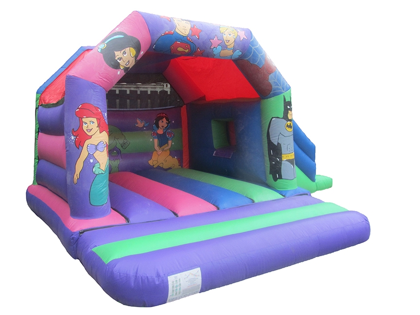 Superhero-Princess-Combo-Bounce-House-Castle-compressor