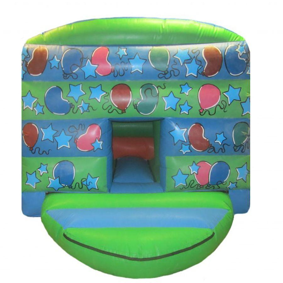 Toddler Party Bouncy Castle with Unisex Colours