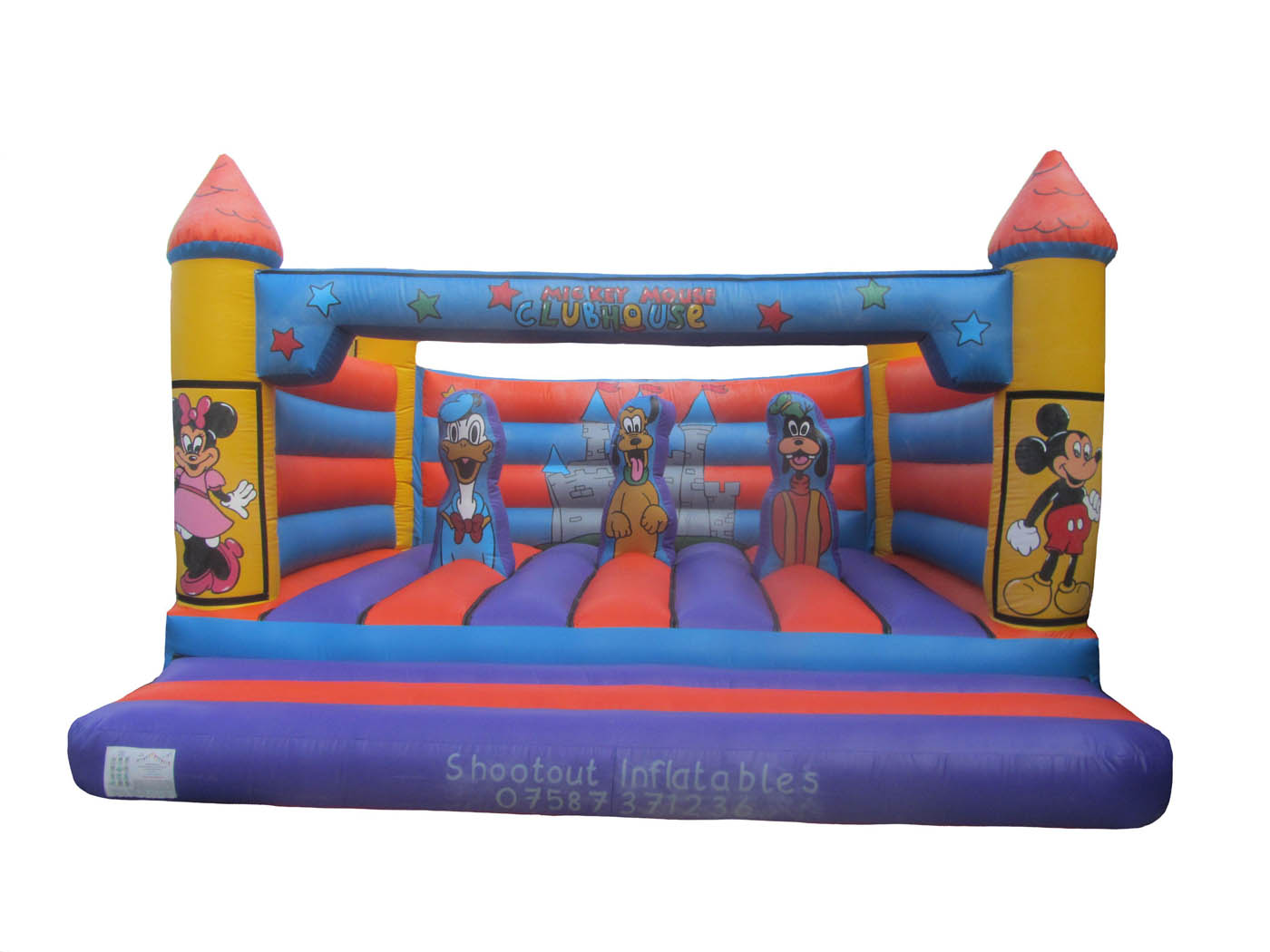 Adults Commercial Turret Top Bouncy Castle